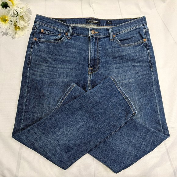 Lucky Brand 410 Athletic Slim Jeans Size 36 x 30